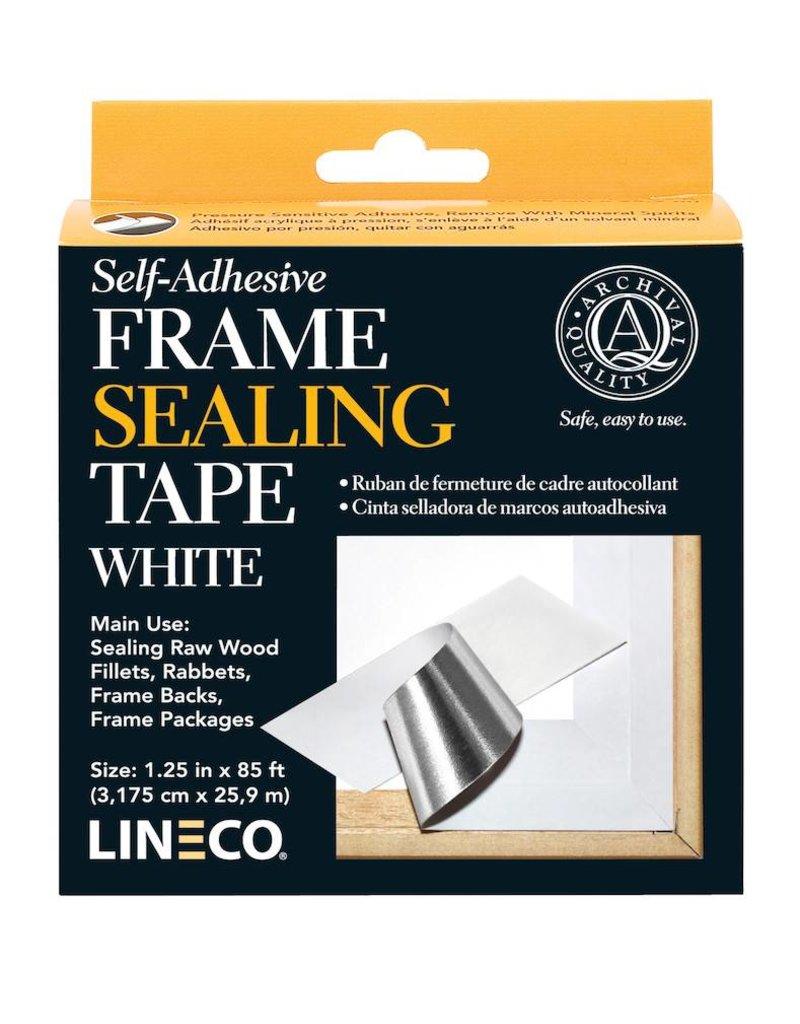 LINECO LINECO SELF ADHESIVE FRAME SEALING TAPE WHITE 1.25''X85'    L387-0152
