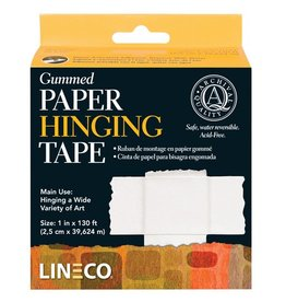 LINECO LINECO GUMMED PAPER HINGING TAPE 3/4''X130'    L533-0751