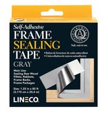 LINECO LINECO SELF ADHESIVE FRAME SEALING TAPE GRAY 1.25''X85'    L387-0151