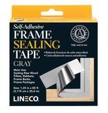 LINECO LINECO SELF ADHESIVE FRAME SEALING TAPE GRAY 1.25''X85'    L387-0151