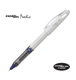 PENTEL PENTEL ENERGEL TRADIO PEN 0.7MM BLACK/WHITE
