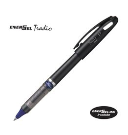 PENTEL PENTEL ENERGEL TRADIO PEN 0.7MM BLUE/WHITE