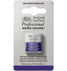 WINSOR NEWTON WINSOR & NEWTON PROFESSIONAL WATERCOLOUR WINSOR VIOLET (DIOXAZINE) HALF PAN