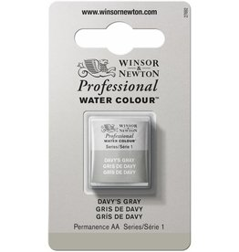 WINSOR NEWTON WINSOR & NEWTON PROFESSIONAL WATERCOLOUR DAVY'S GRAY HALF PAN
