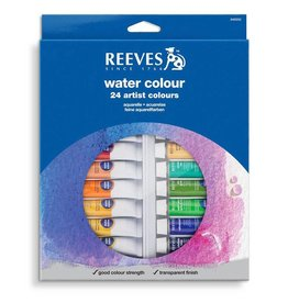 REEVES REEVES WATERCOLOUR TUBE SET/24 10ML    8494252