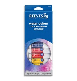 REEVES REEVES WATERCOLOUR TUBE SET/12 10ML    8494250