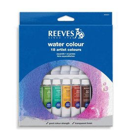 REEVES REEVES WATERCOLOUR TUBE SET/18 10ML     8494251