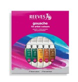REEVES REEVES GOUACHE TUBE SET/18 10ML    8793351