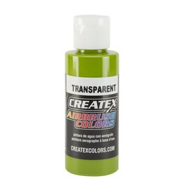 CREATEX CREATEX TRANSPARENT LEAF GREEN 2OZ