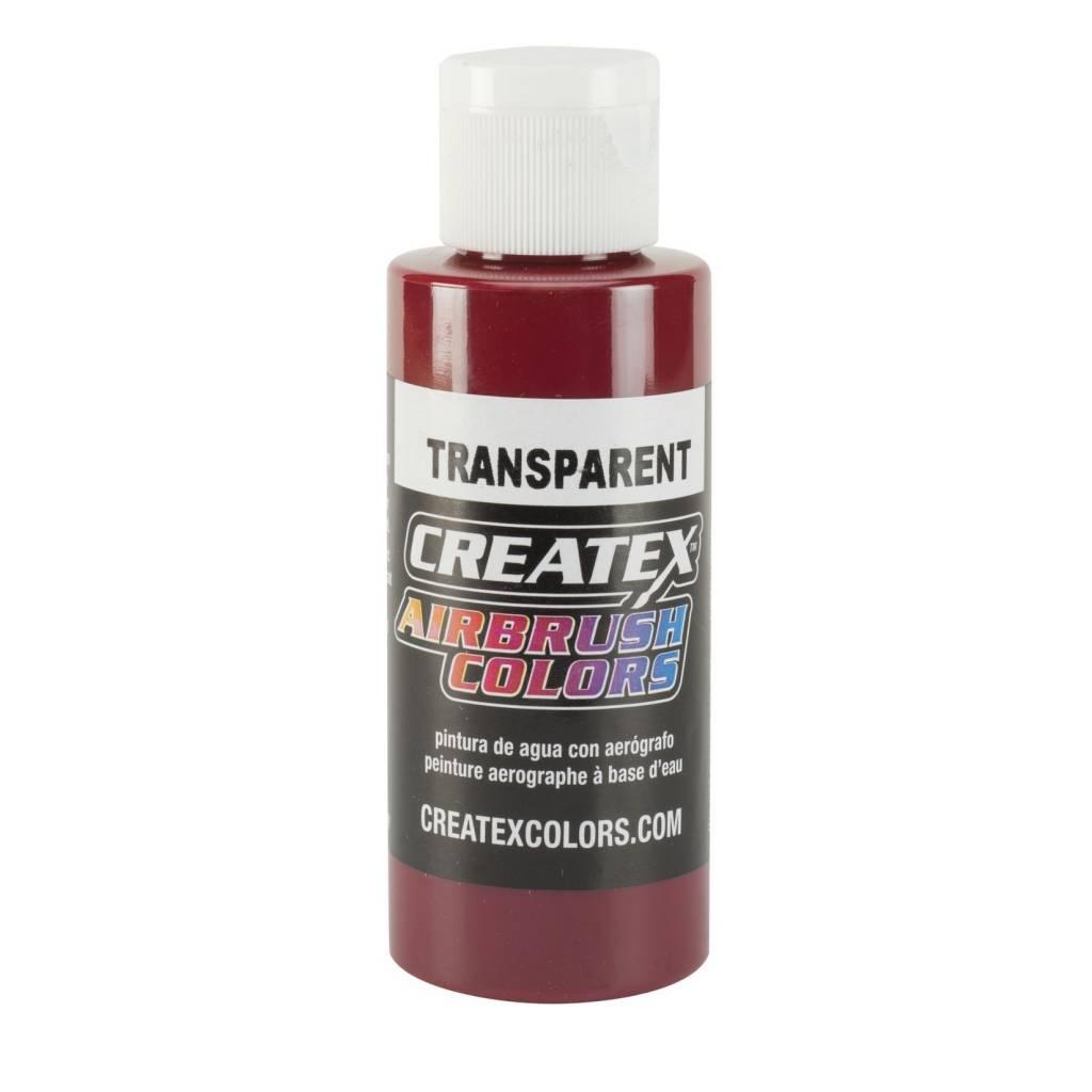 CREATEX CREATEX TRANSPARENT DEEP RED 2OZ