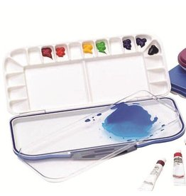MARTIN UNIVERSAL MIJELLO FUSION LEAK-PROOF WATERCOLOUR PALETTE 18 WELL    WBR-92-WP3018B