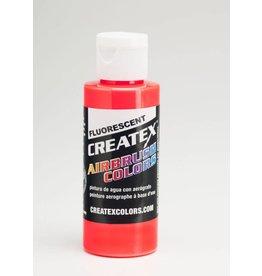 CREATEX CREATEX FLUORESCENT RED 2OZ