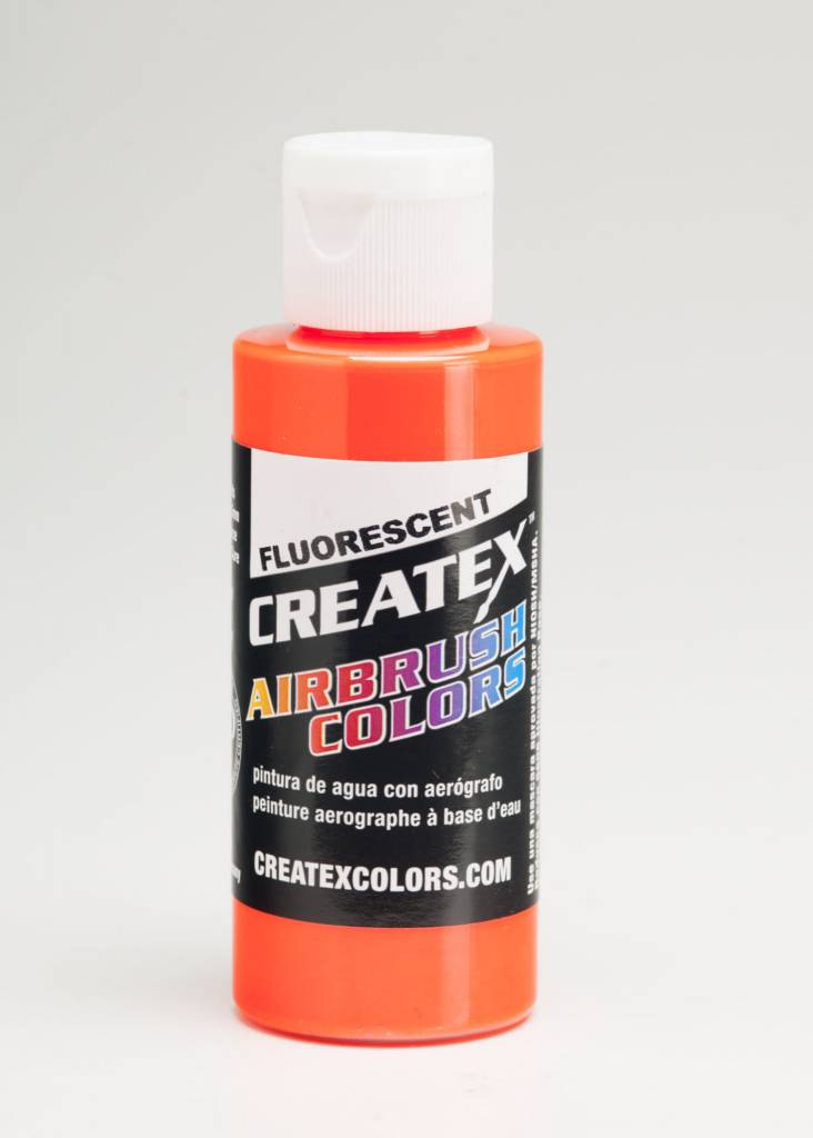 CREATEX CREATEX FLUORESCENT ORANGE 2OZ
