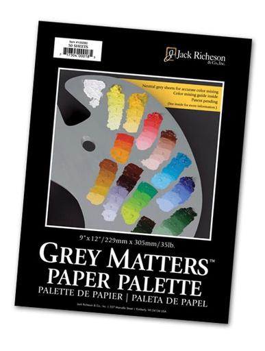 JACK RICHESON JACK RICHESON GREY MATTERS PAPER PALETTE 6X9