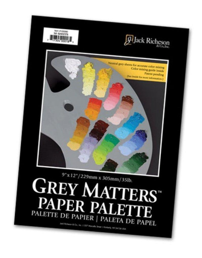 JACK RICHESON JACK RICHESON GREY MATTERS PAPER PALETTE 9X12