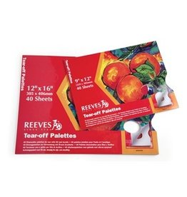 REEVES REEVES TEAR OFF PALETTE PAPER 12X16