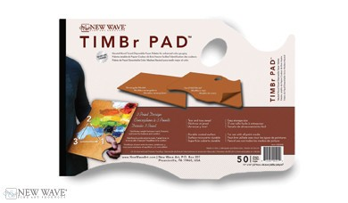 NEW WAVE ART NEW WAVE ART TIMBR PAD 11X16 HAND HELD MODEL