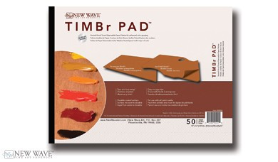 NEW WAVE ART NEW WAVE ART TIMBR PAD 12X16