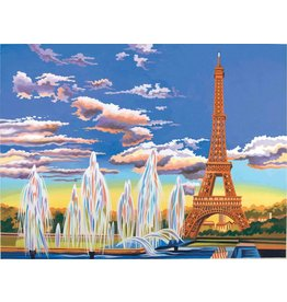 REEVES REEVES PAINTING BY NUMBERS EIFFEL TOWER