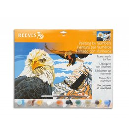 REEVES REEVES PAINTING BY NUMBERS EAGLES