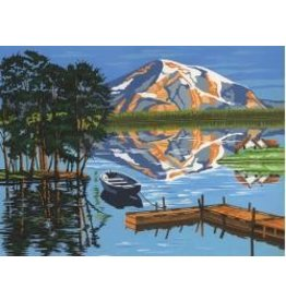 REEVES REEVES PAINTING BY NUMBERS LAKE