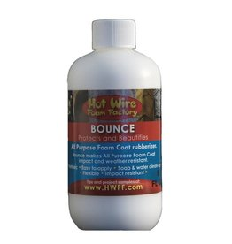 HOT WIRE FOAM FACTORY HOT WIRE BOUNCE RUBBERIZER 8OZ