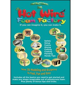 HOT WIRE FOAM FACTORY HOT WIRE FOAM FACTORY INSTRUCTIONAL DVD