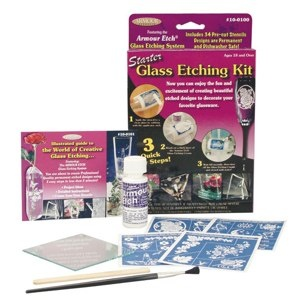 ARMOUR PRODUCTS ARMOUR ETCH GLASS ETCHING STARTER KIT