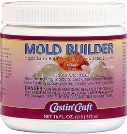 ENVIRONMENTAL TECHNOLOGY CASTIN CRAFT LATEX MOLD BUILDER 128OZ    DISC