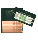 FABER CASTELL PITT PASTEL PENCIL SET/12