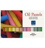 PRO ART PRO ART OIL PASTEL SET/12