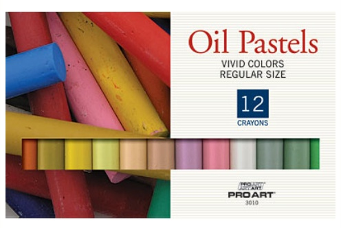 PRO ART PRO ART OIL PASTEL SET/12