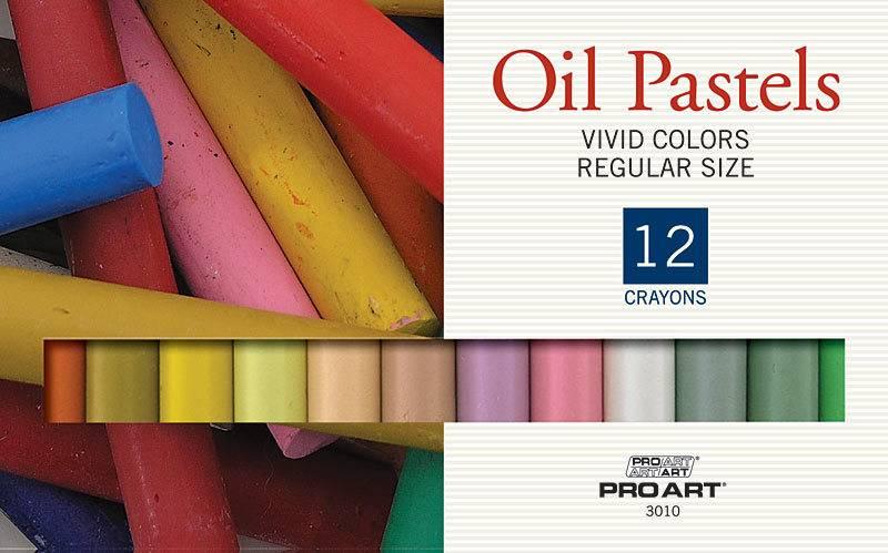 PRO ART PRO ART OIL PASTEL SET/36