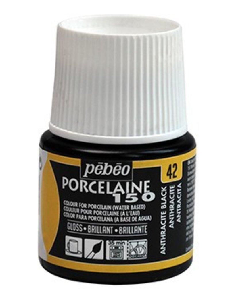 PEBEO PORCELAINE 150 ANTHRACITE BLACK 45