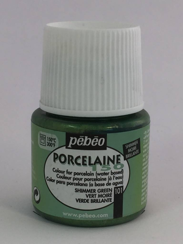 PEBEO PORCELAINE 150 SHIMMER GREEN 45ML