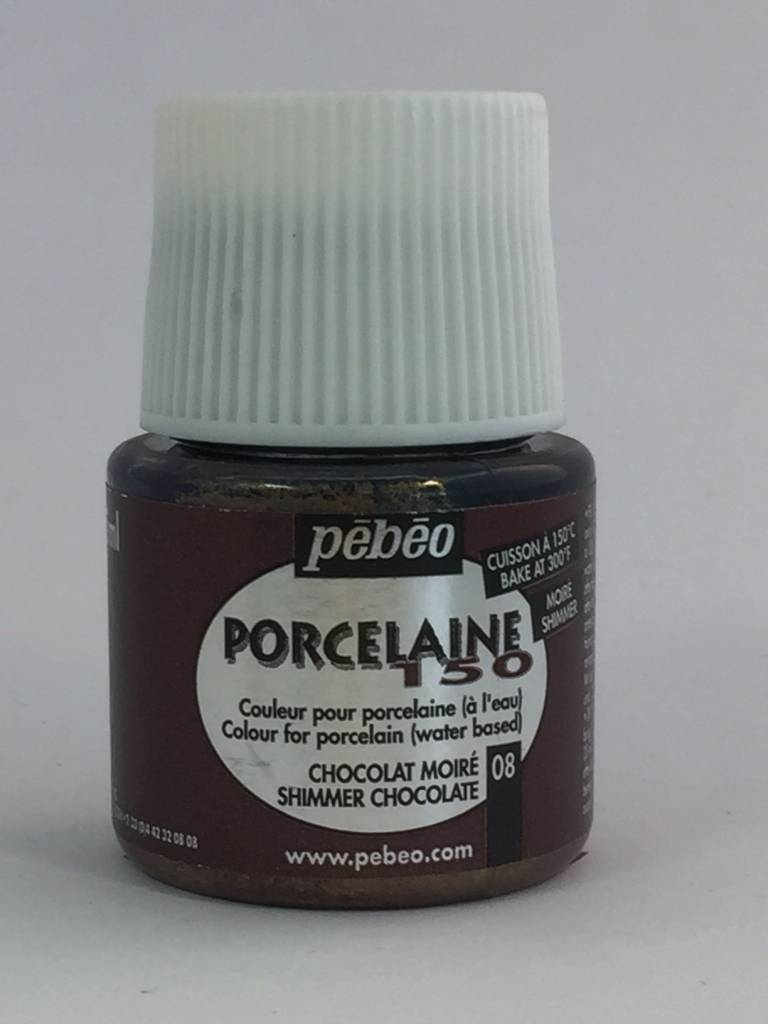 PEBEO PORCELAINE 150 SHIMMER CHOCOLATE 45ML