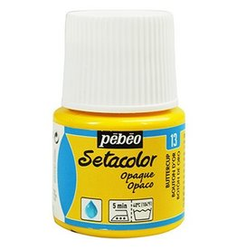 PEBEO SETACOLOR OPAQUE BUTTERCUP 45ML