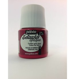 PEBEO SETACOLOR OPAQUE ORIENTAL RED 45ML