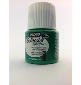 PEBEO SETACOLOR OPAQUE LIGHT GREEN 45ML
