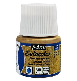 PEBEO SETACOLOR OPAQUE SHIMMER GOLD 45ML