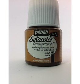 PEBEO SETACOLOR TRANSPARENT FAWN 45ML