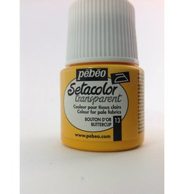 PEBEO SETACOLOR TRANSPARENT BUTTER CUP 45ML