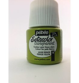 PEBEO SETACOLOR TRANSPARENT PERNOD YELLOW 45ML