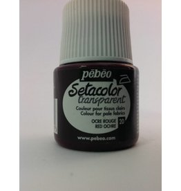 PEBEO SETACOLOR TRANSPARENT RED OCHRE 45ML