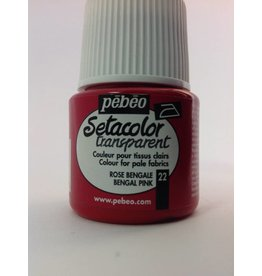 PEBEO SETACOLOR TRANSPARENT BENGAL PINK 45ML