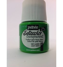PEBEO SETACOLOR TRANSPARENT LIGHT GREEN 45ML