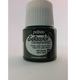 PEBEO SETACOLOR TRANSPARENT MOSS GREEN 45ML