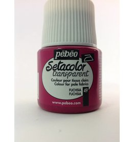 PEBEO SETACOLOR TRANSPARENT FUCHSIA 45ML