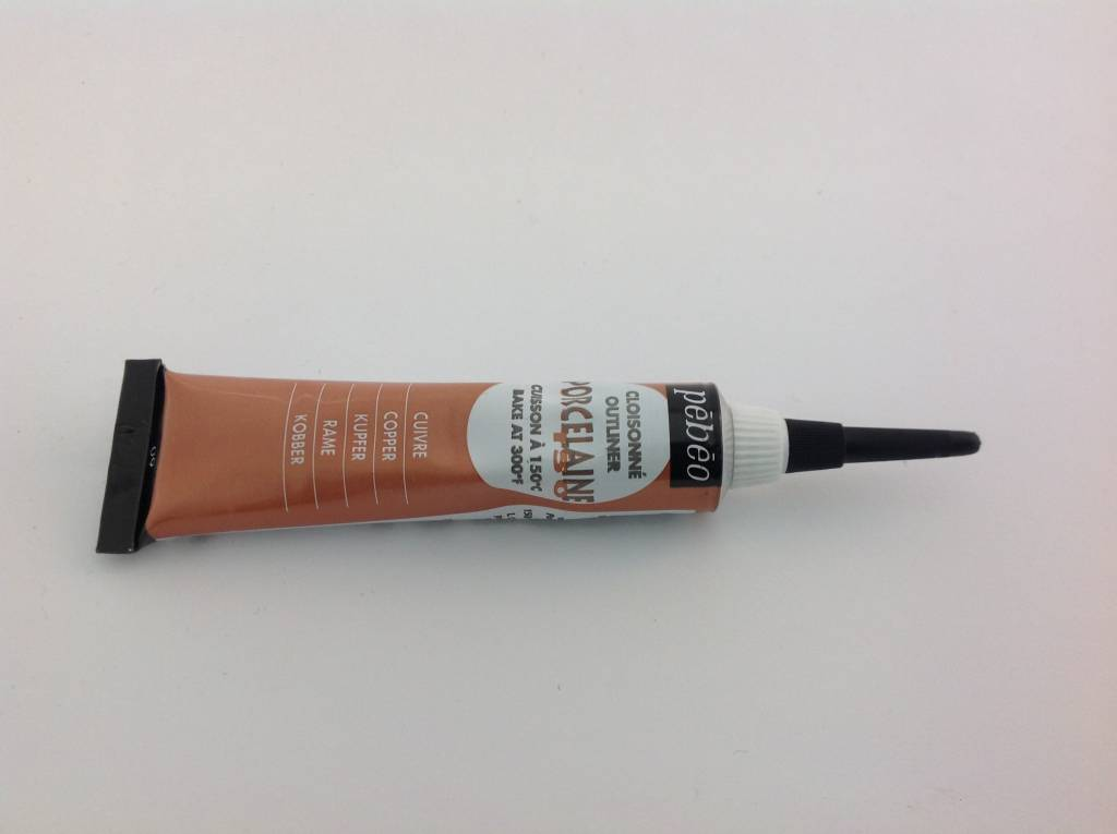 PEBEO PORCELAINE OUTLINER COPPER 20ML