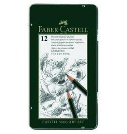 FABER CASTELL FABER CASTELL 9000 PENCIL SET/12 ART